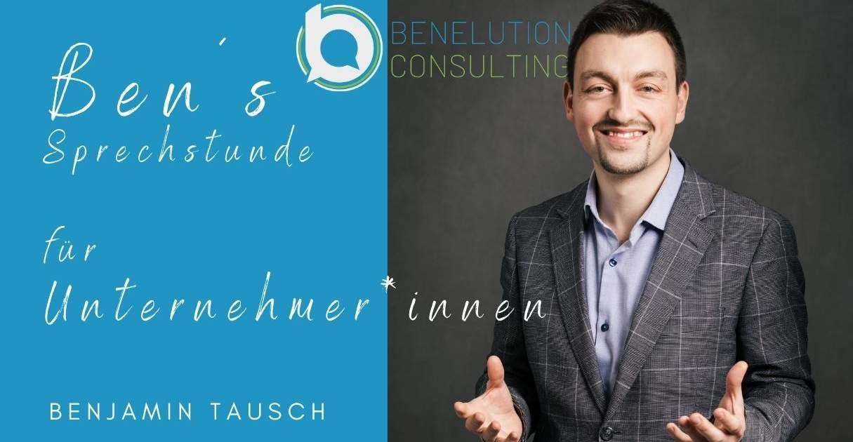 Benelution Consulting Sprechstunde zu Förderungen für Unternehmen in Österreich